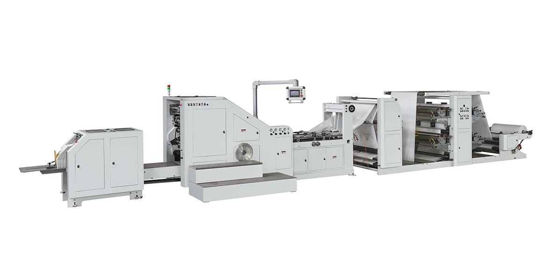 82a4e819c3 LSB-320XL+LST-41100 Máquina de fabricación de bolsas de papel con fondo